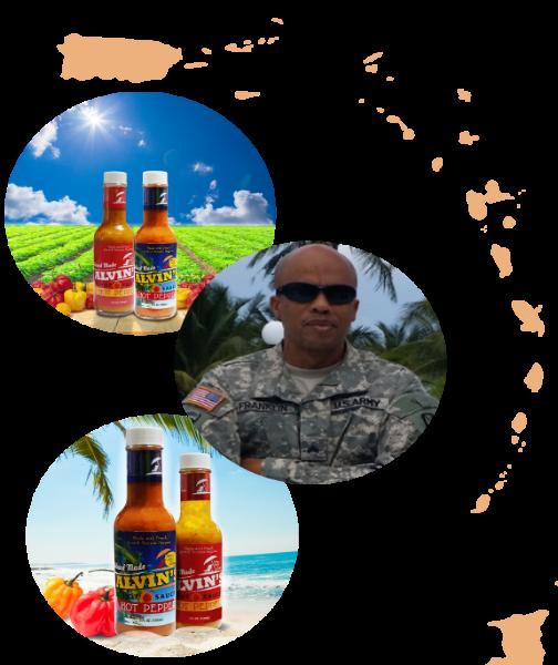 Alvins Hot Sauces